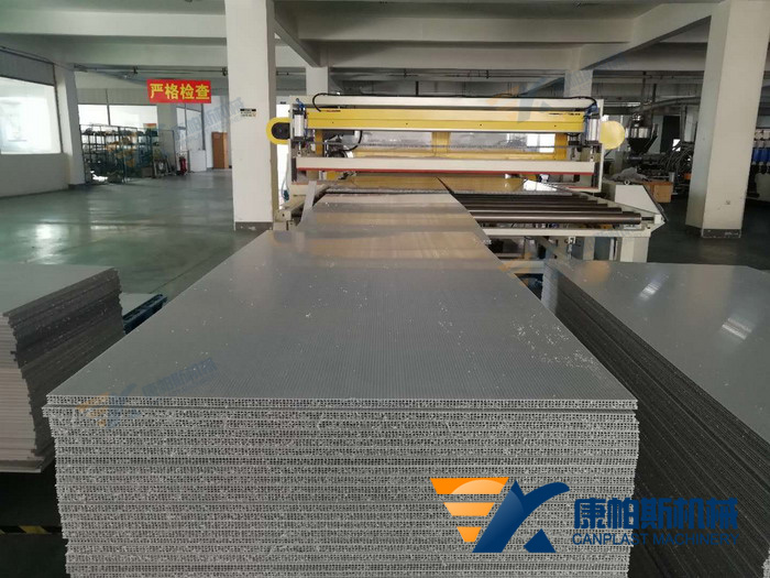 PPHollow Construction Board extrusion machine