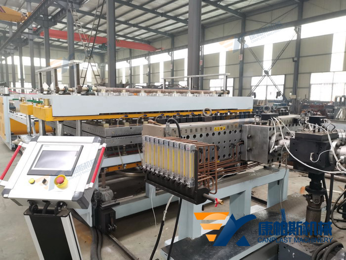 PP Hollow Construction Board extrusion machine