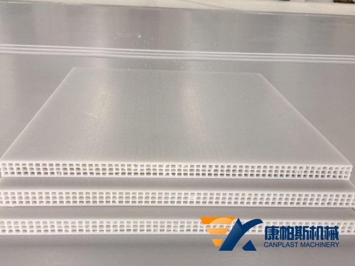 PP中空建筑模板设备1