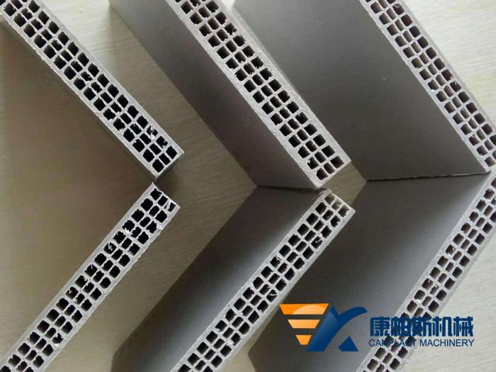 pp中空建筑模板设备3