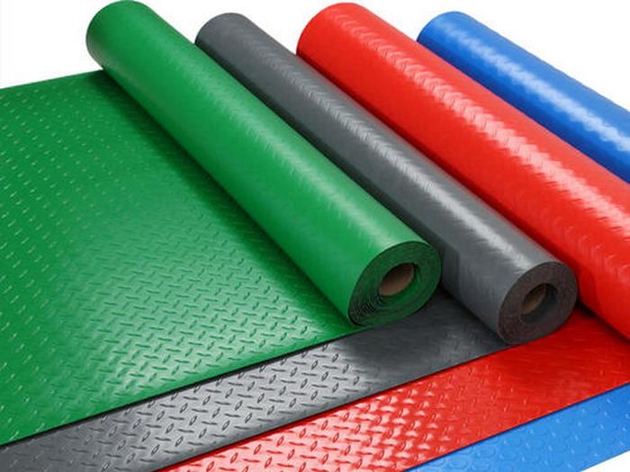 PVC压花地垫设备