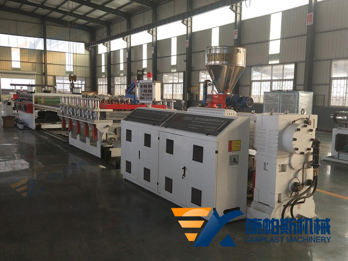 WPC cabinet board production line